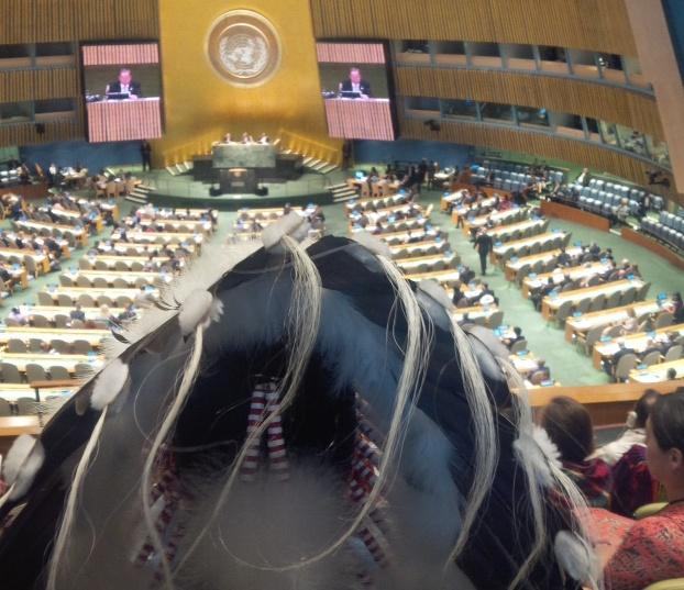 UN World Conference on Indigenous Peoples. Photo: Jennifer Preston