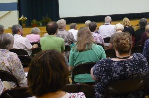 Friends gathered at Canadian Yearly Meeting 2013