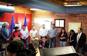 Tsilhqot'in press conference after Supreme Court of Canada ruling June 26, 2014. Photo credit: UBCIC