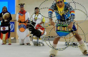 The Yellow Bird Apache Dancers during the Opening of the Fourth session of the Expert Mechanism on the Right of Indigenous Peoples - Photocredit UN Geneva CC-BY