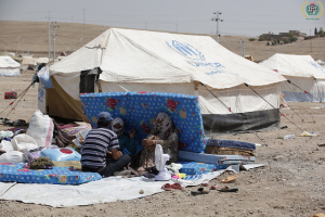 Syrian refugees in Kawrgosk refugee camp, Irbil, Northern Iraq, 2013 - IHH Humanitarian Relief Foundation CC-BY