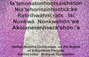 UN Declaration on the Rights of Indigenous Peoples Kanien'kéha/Mohawk Translation