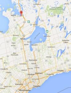 Camp NeeKauNis is on the shores of Georgian Bay, 130 KM north of Toronto