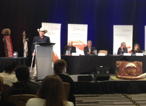 Chief Wilton Littlechild speaks about the rights of Indigenous peoples