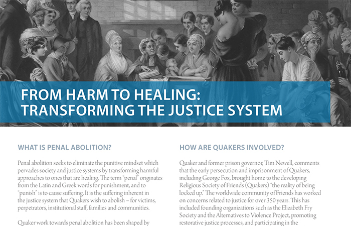 Penal abolition resource launched