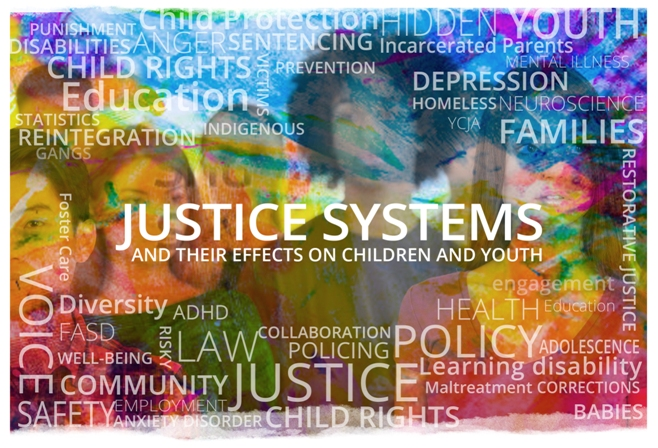 The effects of the criminal justice system on children and youth - children's rights, incarceration of parents
