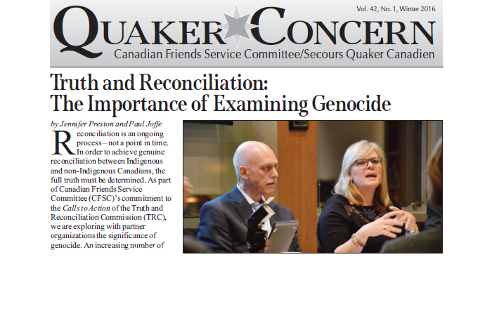Truth and Reconciliation: The Importance of Examining Genocide