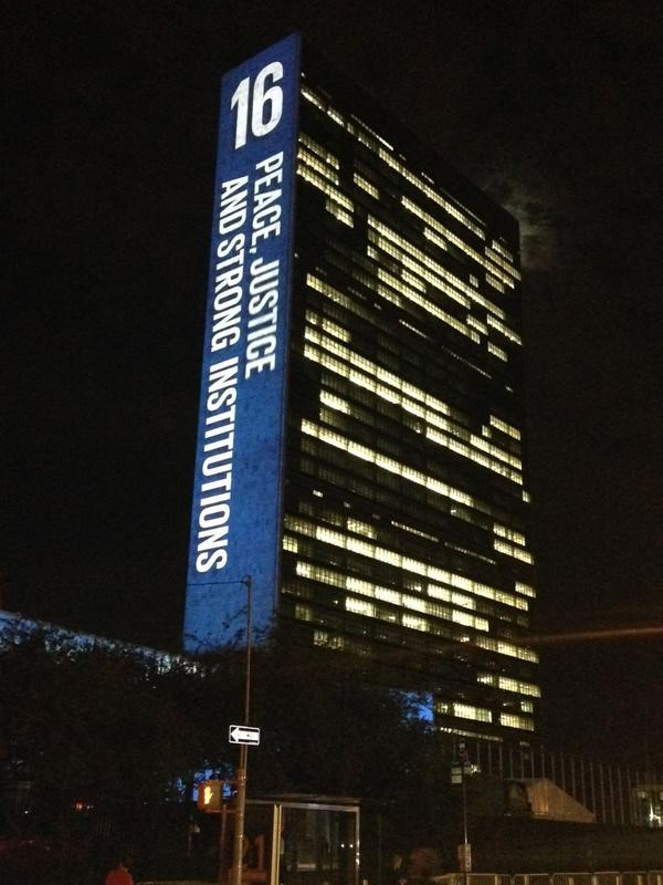 It is time to embrace the new global framework for peace. Sustainable Development Goal 16