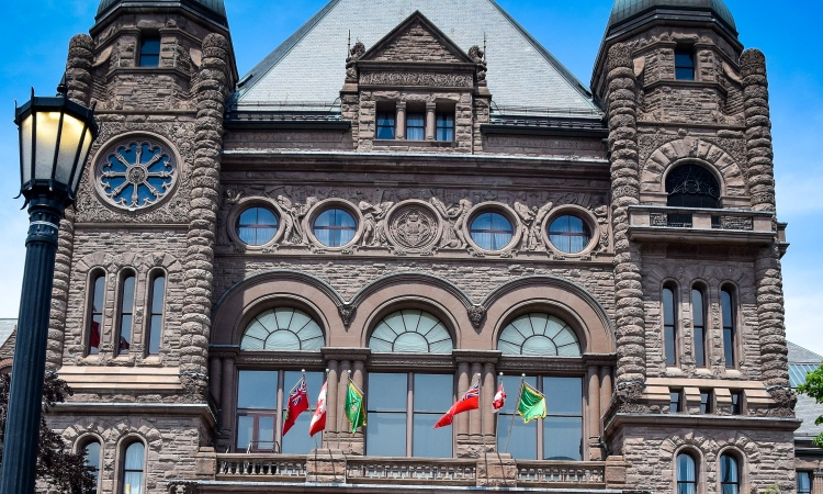 Ontario debates on BDS at Legislative Building