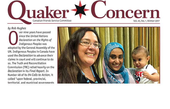Quaker Concern is here with a fresh design for 2017
