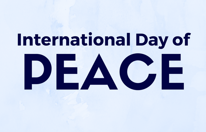 On International Day of Peace governments must recommit to peace.