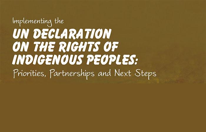 Major UN Declaration symposium happening in Quebec