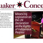 Winter 2018 Issue of Quaker Concern