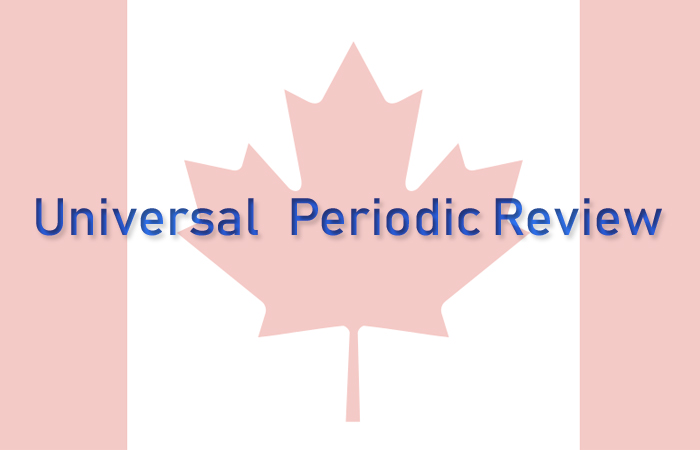 Canada's Universal Periodic Review