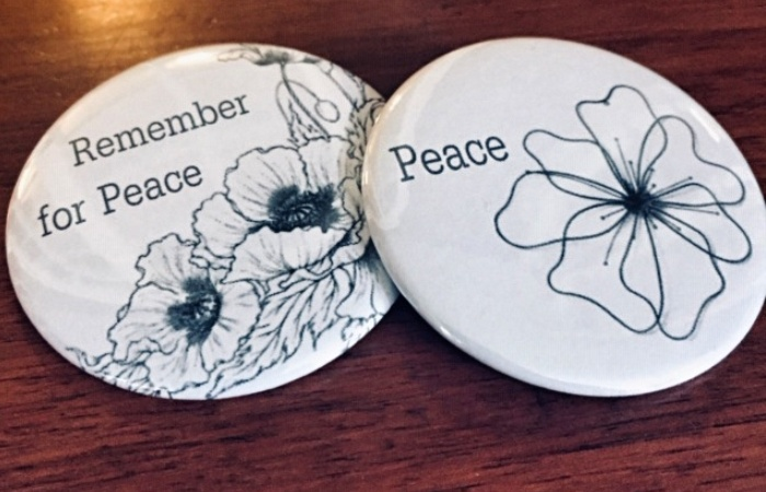 White poppy buttons for sale