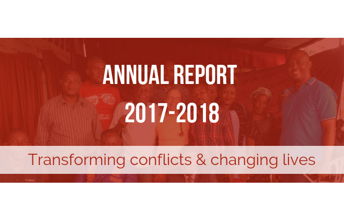 Canadian Friends Service Committee Annual Report 2017-2018