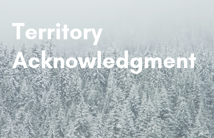 New resource on writing territory acknowledgments