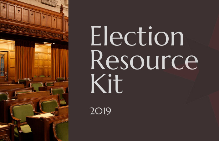 2019 election resource kit launched