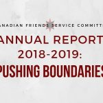 CFSC Annual Report 2018-2019 - Pushing Boundaries