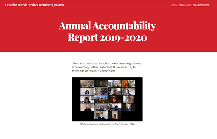 Annual Accountability Report 2019-2020
