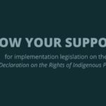 CFSC welcomes tabling of Bill C-15 to implement UN Declaration