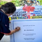 Citizens sign UN Treaty on the Prohibition of Nuclear Weapons