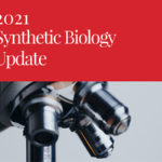 Cover page of the 2021 Update on Synthetic Biology